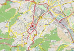 Stuttgart OpenStreetMap