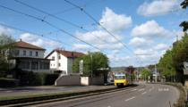 Mit der Stadtbahn in wenigen Minuten zum Fernsehturm oder ins Stadtzentrum